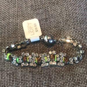Loft magnetic closure bracelet